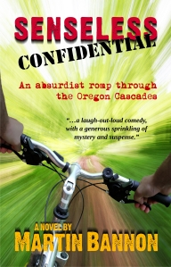 Front cover of Senseless Confidential, a fun book to read